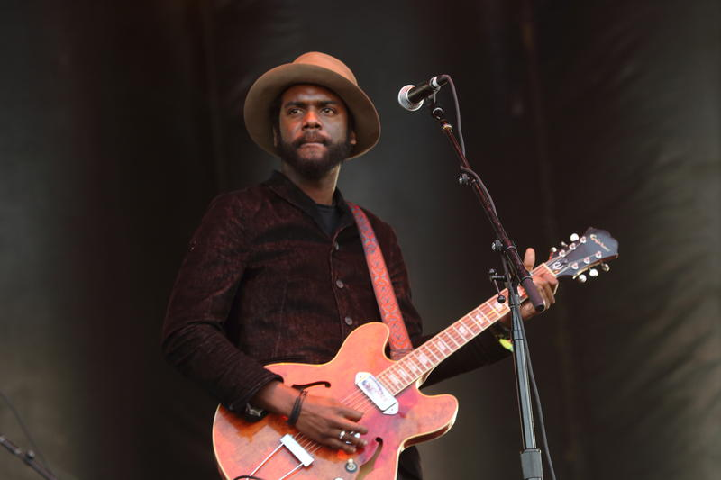 Gary Clark, Jr. performs at the 2014 Hangout Music Festival on Friday, May 16, 2014, in Gulf Shores, Alabama.