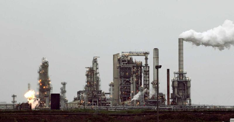 The Tesoro refinery on March Point in Anacortes