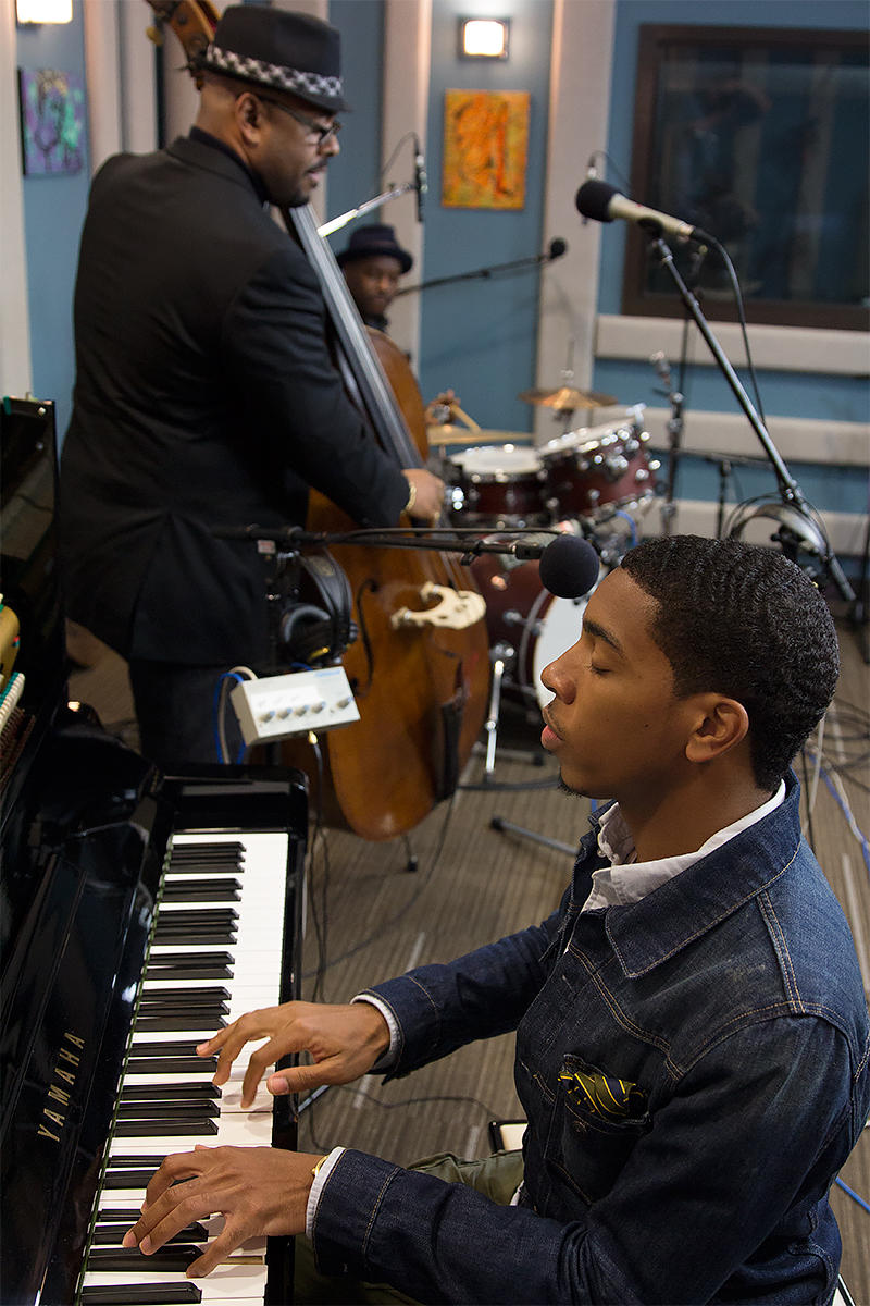 The Christian McBride Trio performing live in the KPLU Seattle studios.