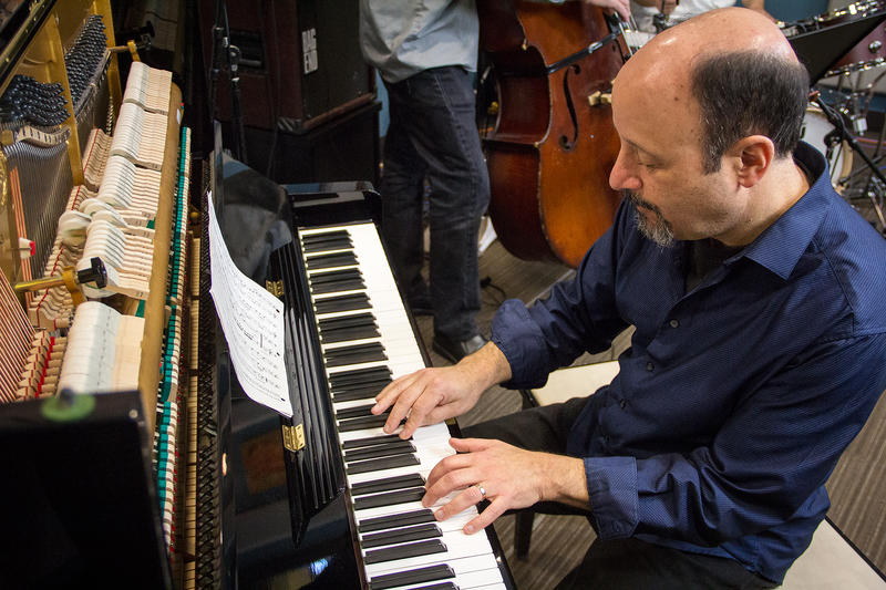 The Bill Anschell Trio performing live in the KPLU studios.