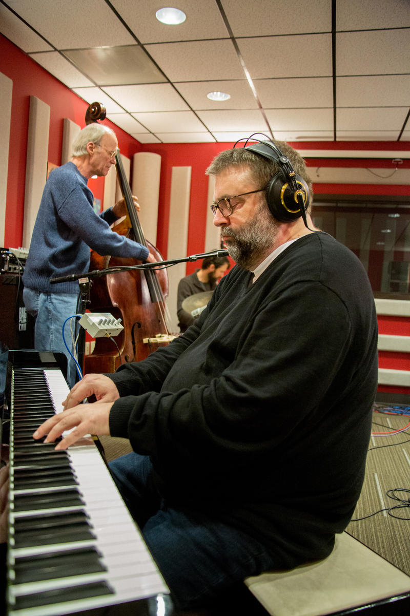 Dave Peck, Jeff Johnson, and Eric Eagle live in the KPLU Seattle studios.