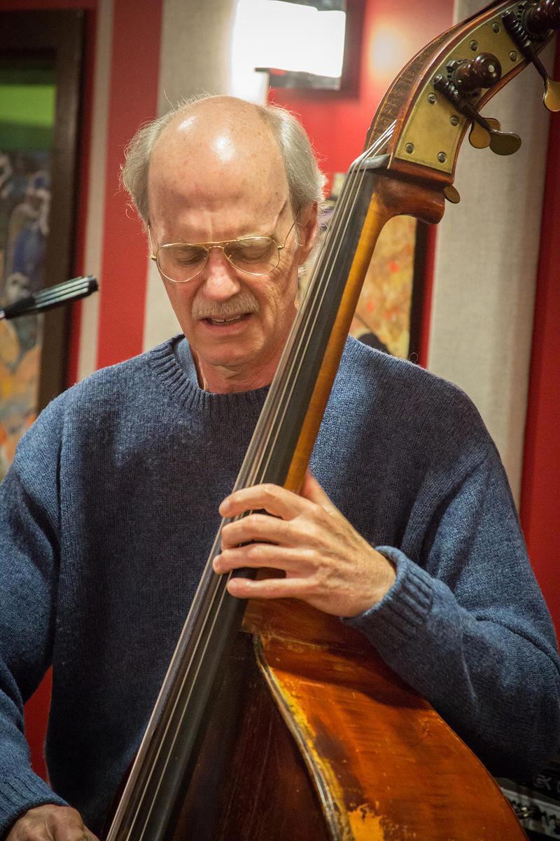 Jeff Johnson in the KPLU Seattle studios.