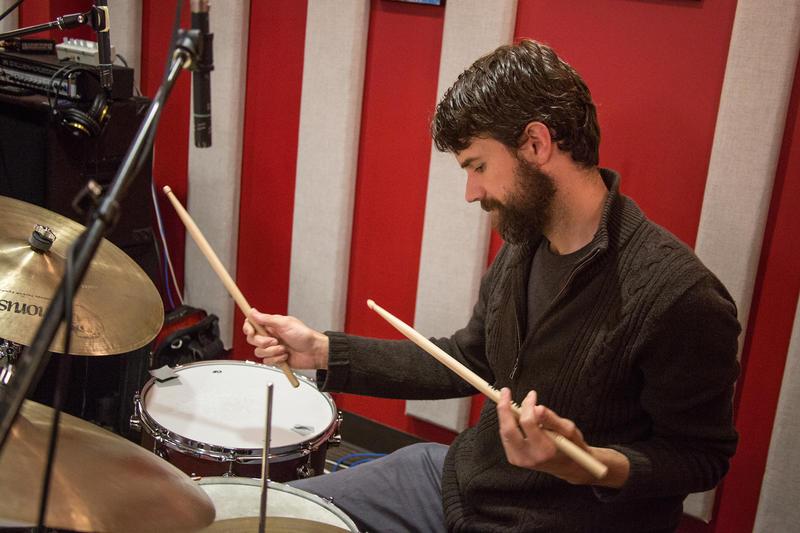 Eric Eagle in the KPLU Seattle studios.