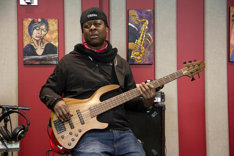 Childo Tomas live in the KPLU Seattle studio.