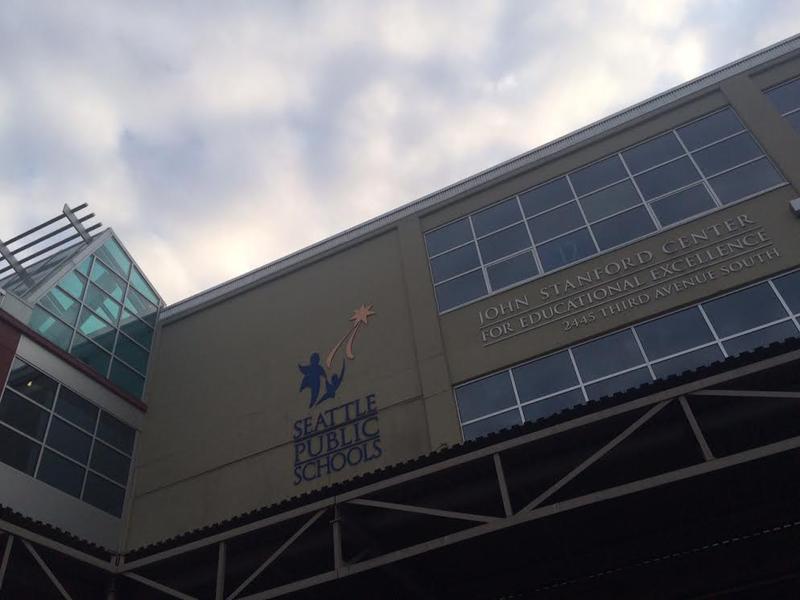 Seattle Public Schools' headquarters in the SoDo neighborhood.