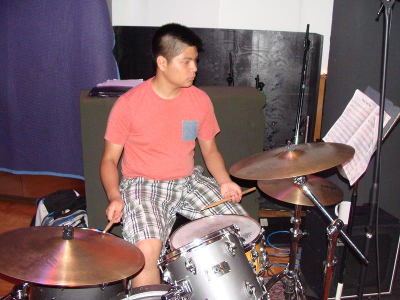 Drummer Abiel Kwok