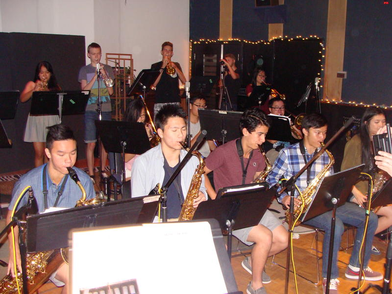Point Grey Secondary School jazz band