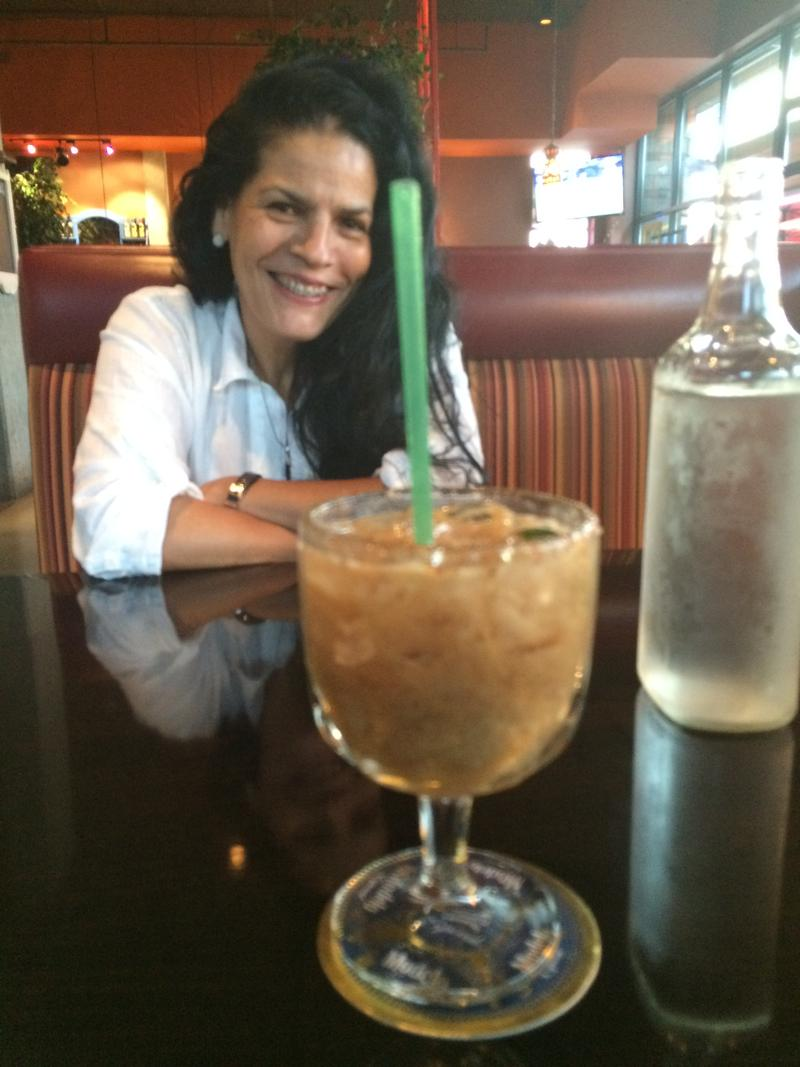 Among her specialties is a Tamarind margarita, says Huarachitos owner Ana Martinez