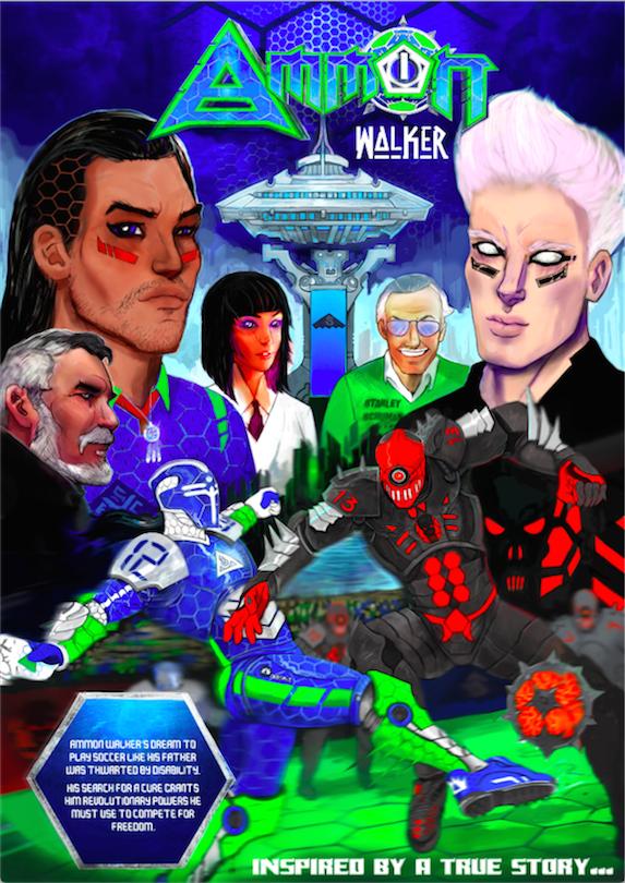 Amon Walker cover art.