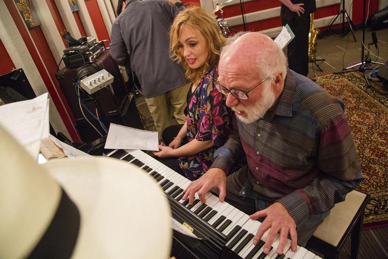 Stephanie Porter performs in the KPLU studio.