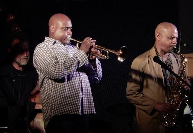 Chuck Deardorf, Terell Stafford, Steve Wilson at Jazz Port Townsend 2015