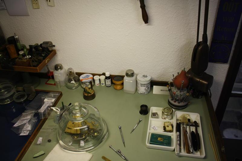 Cox's workbench