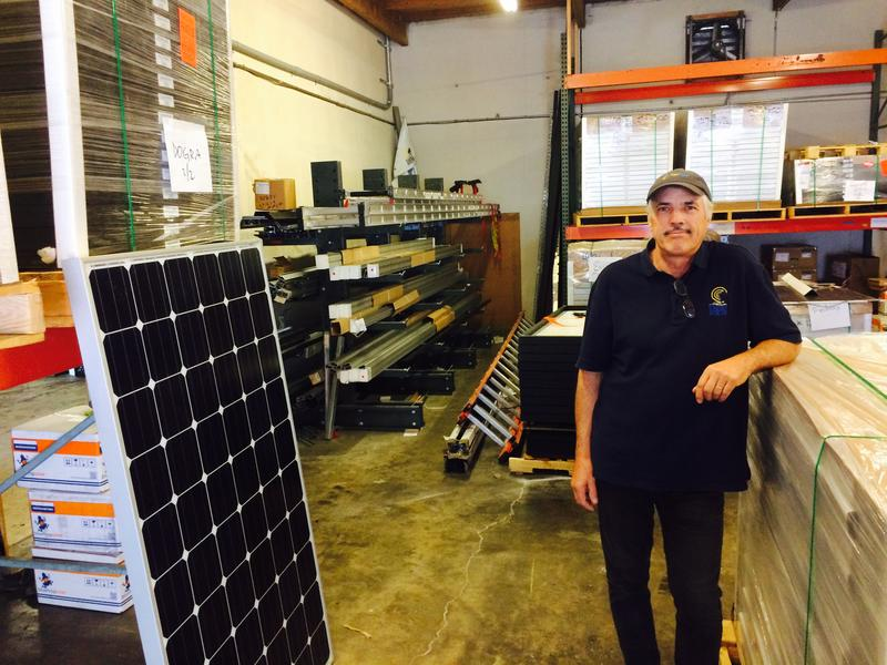 Jeremy Smithson is the CEO of Puget Sound Solar