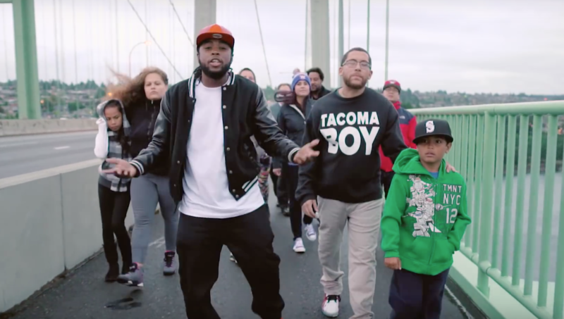 A screengrab from an anti-gun violence video produced by the City of Tacoma