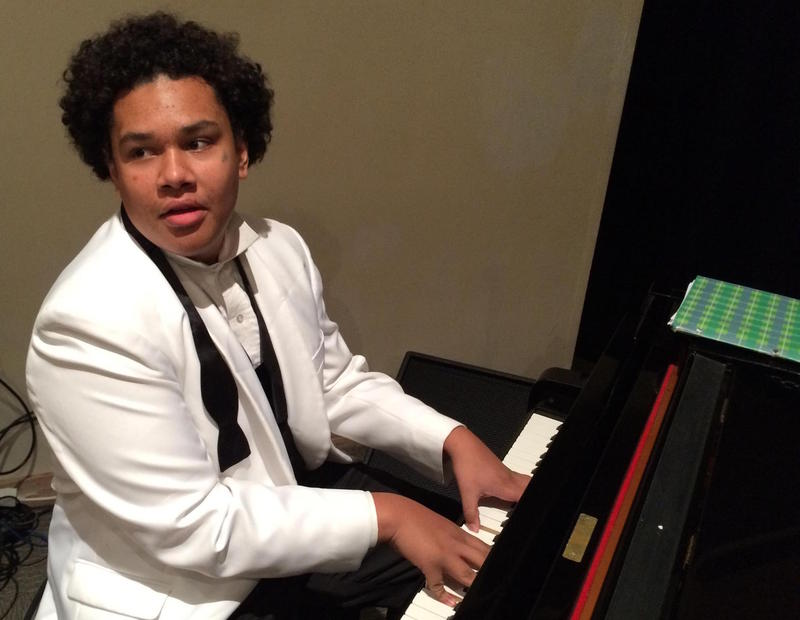 Pacific Crest Jazz Orchestra pianist Charlie Brown
