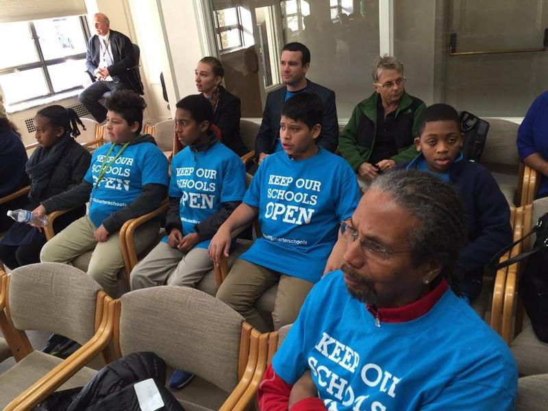 An advocacy group, 'Act Now for Washington Students,' posted this photo to their Facebook page of charter school students attending a legislative committee meeting in Olympia on Nov. 20.