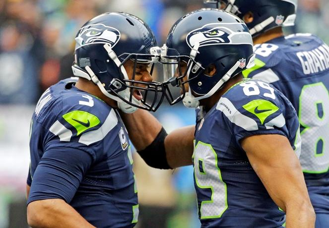 Russell Wilson and Doug Baldwin have been connecting in an amazing way this season.