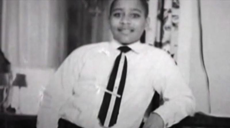 "Emmitt Till was murdered in Mississippi in 1955. Screen shot from ""The Untold Story of Emmett Louis Till."""