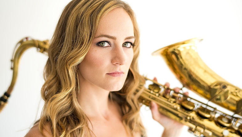 Saxophonist Roxy Cross