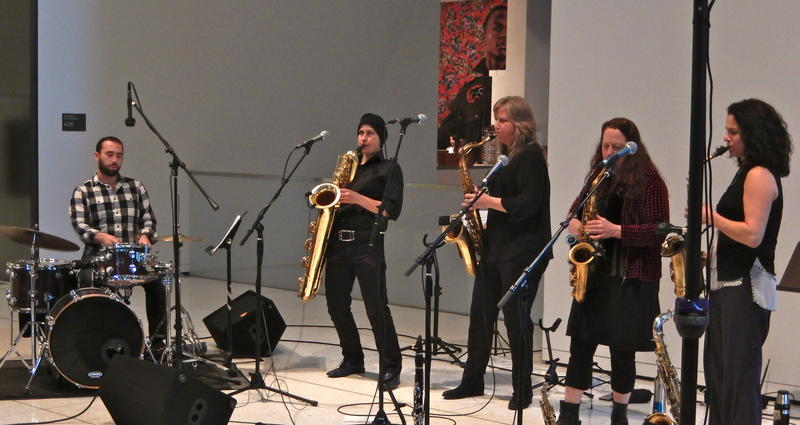 The Tiptons at The Seattle Art Museum's Art of Jazz series.
