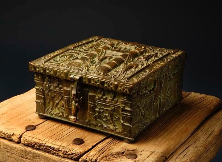 Forrest Fenn's treasure chest, which is suspected to be hidden somewhere in the Rocky Mountains.