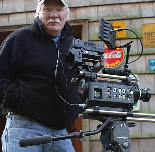 Dal Neitzel, a documentary filmmaker and avid treasure hunter based near Bellingham, Washington.