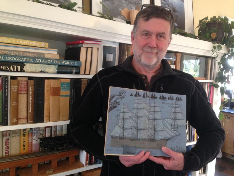 Kevin Wood, along with the book that captured his imagination as a child, went on to a career at sea.