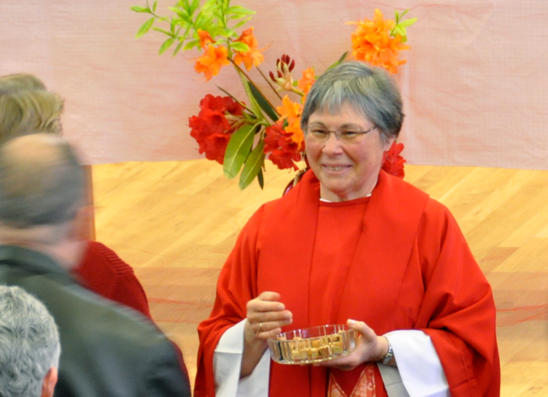 Diane Whalen ministers to the Holy Wisdom Inclusive Catholic Community in Olympia.