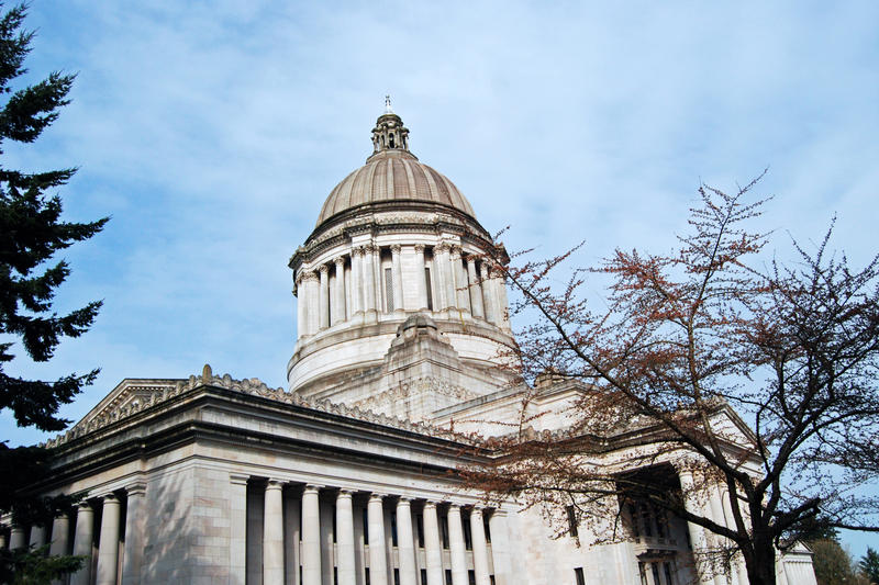 The Washington state Capitol in Olympia