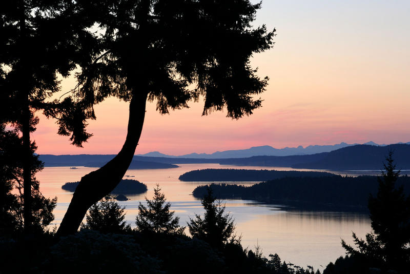 You can get to Salt Spring Island, BC, by starting trip in Port Angeles, Wash., and hopping on the Black Ball ferry.