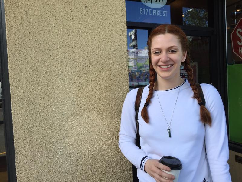 Ally Beckwith, a student and barista, will be performing at the storytelling event