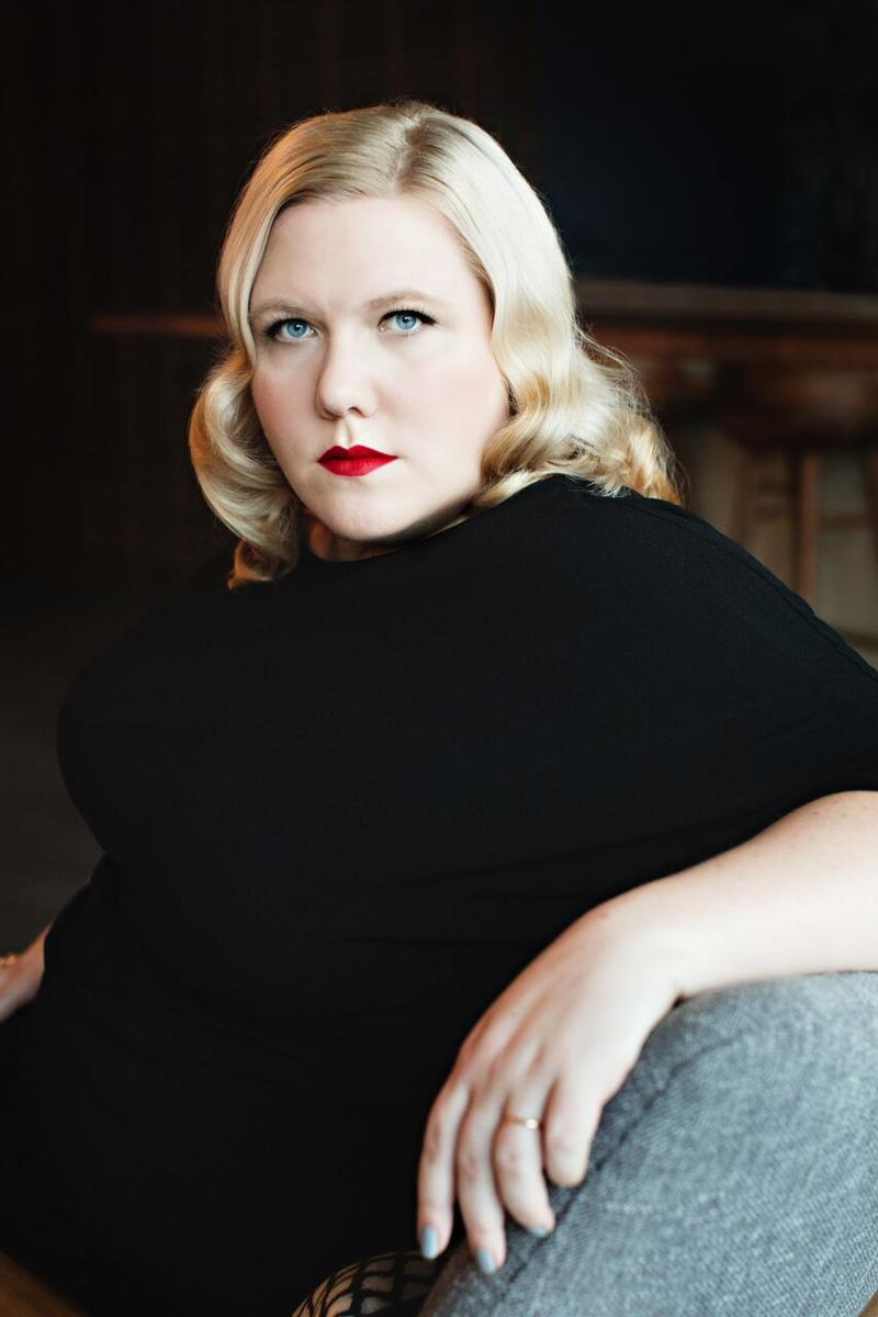 Seattle based writer, Lindy West. Her new memoir is called Shrill: Notes From A Loud Woman.