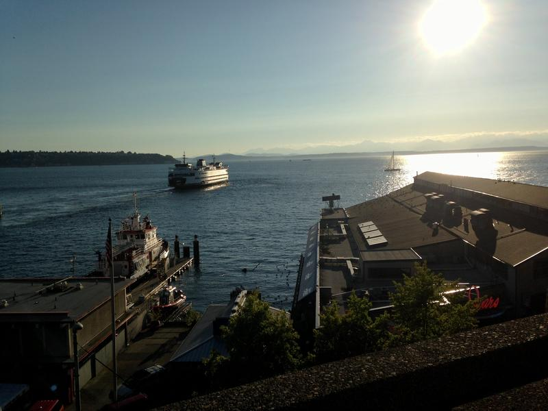 Supporters of Seattle Initiative 123 say they want to preserve views like this one seen from the viaduct.