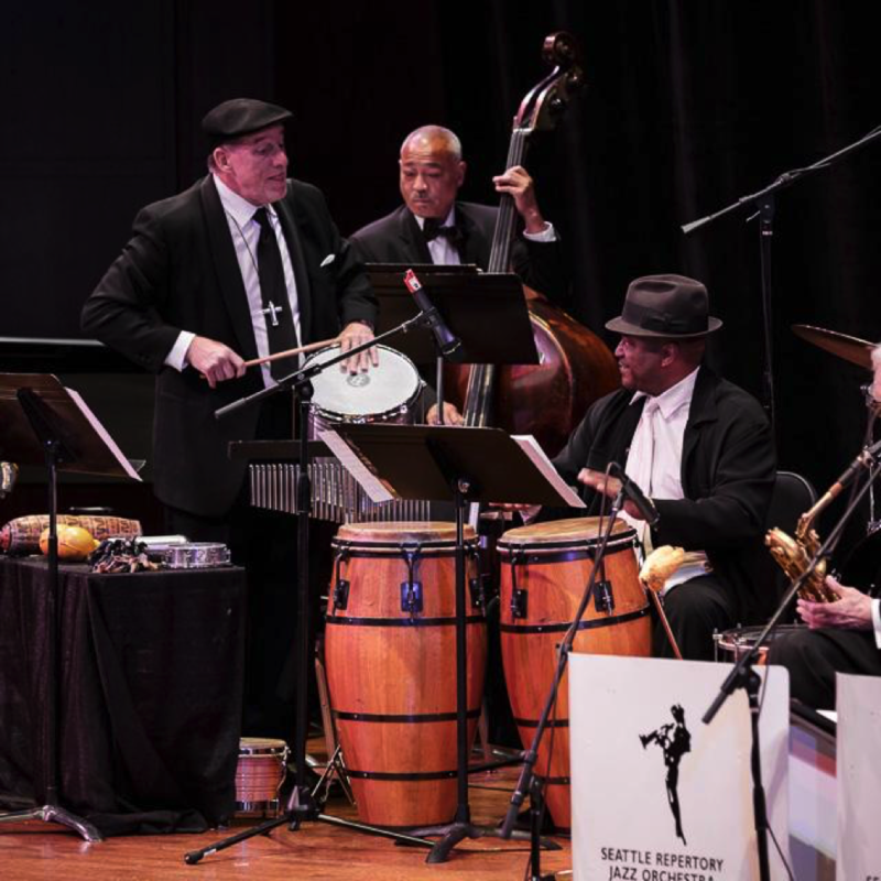 Percussionists Lary Barileau and Ricardo Guiti join SRJO bassist Phil Sparks in Bossa Nova concert
