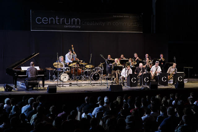 Faculty All-Star Big Band Tribute to Woody Herman at Jazz Port Townsend