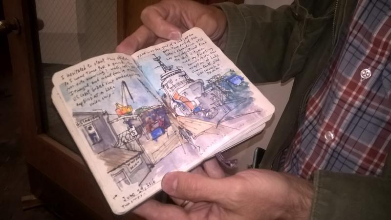 Gabriel Campanario's sketch book