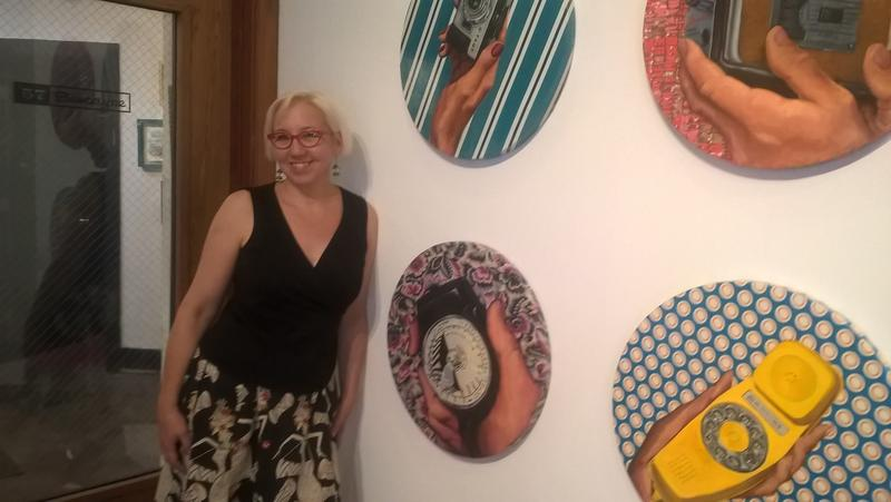 Seattle artist Jane Richlovsky at '57 Biscayne