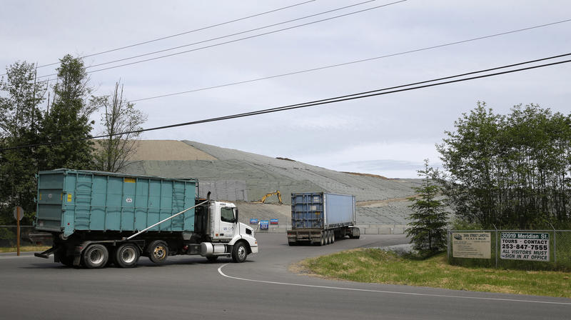 The LRI landfill in Graham, Wash. is among the large carbon emitters affected by the new rule.