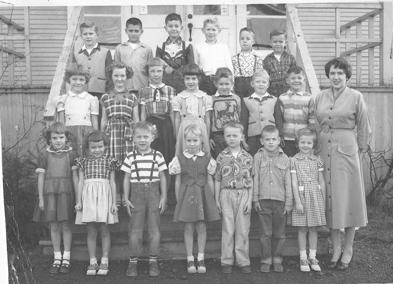 Children of Grisdale loggers have fond memories of the camp's two-room schoolhouse. Some said they struggled to adjust to bigger public schools.