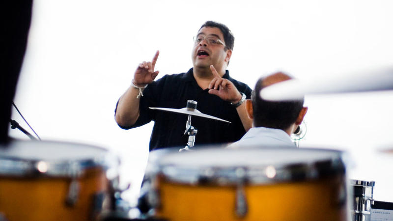 Arturo O'Farrill conducts the Afro Latin Jazz Orchestra