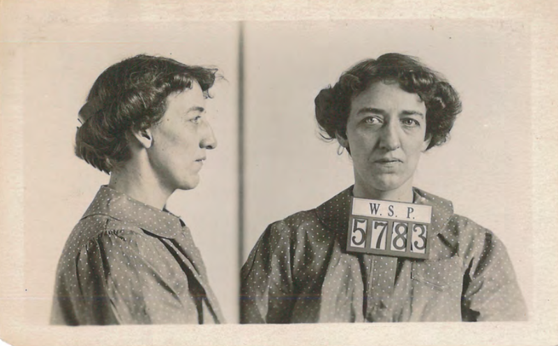 Maud Myrtle Johnson was known as the 'Queen of Fakers' for defrauding rail road companies in the early 20th century.