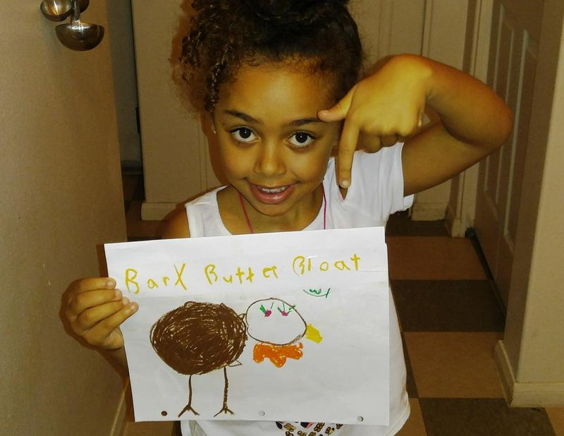 Butterbloat fan and wildlife artist Tahmina Dunaway.