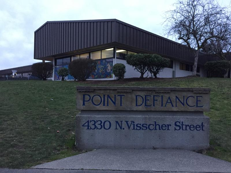 Point Defiance Elementary School in Tacoma