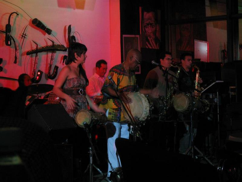 Oscar Valdez at Jazz Cafe, Havana