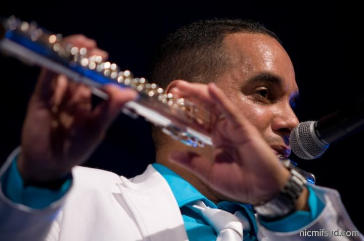 """Cuban flutist Orlando """"Maraca"""" Valle"""