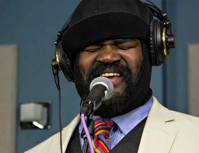 Gregory Porter singing live on 88.5 in 2013.