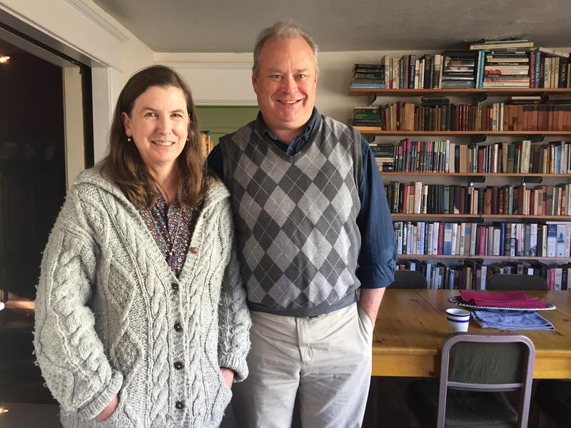 Jim and Jamie Walsh pose for photograph in their Aberdeen home. Jim won his first election for state representative in the 19th Legislative District. It's an area that's traditionally been a Democratic stronghold.