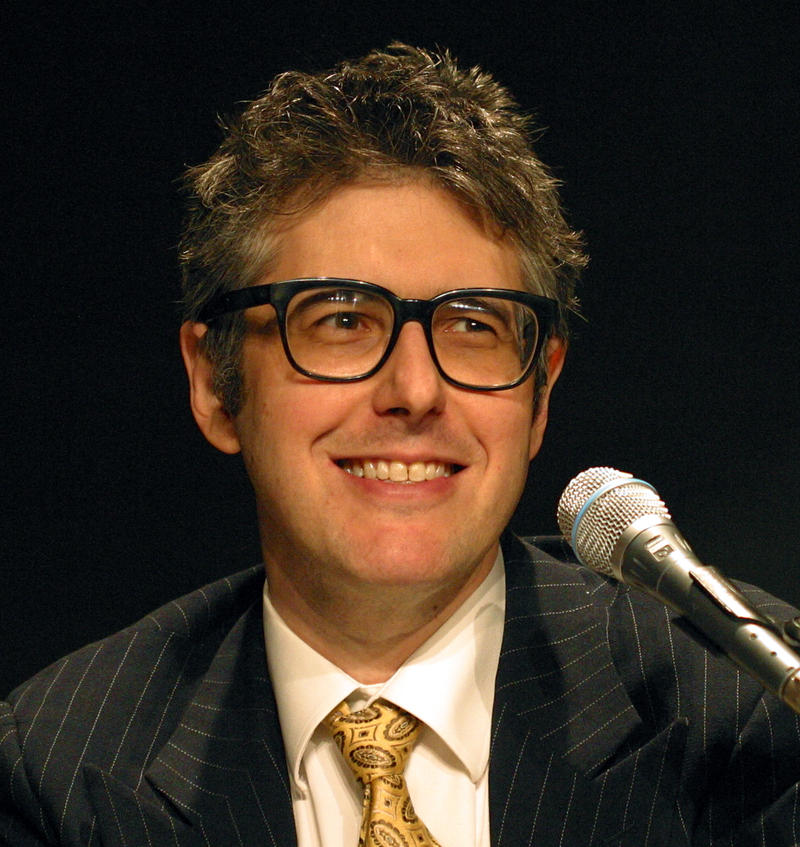 Ira Glass of This American Life giving a lecture at Carnegie Mellon University in 2006.