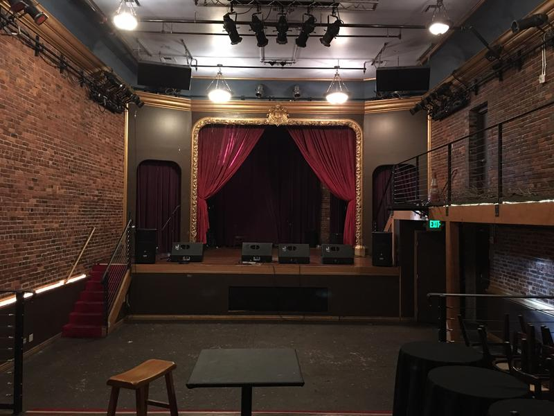The main stage at the Columbia City Theater originally hosted vaudeville acts.
