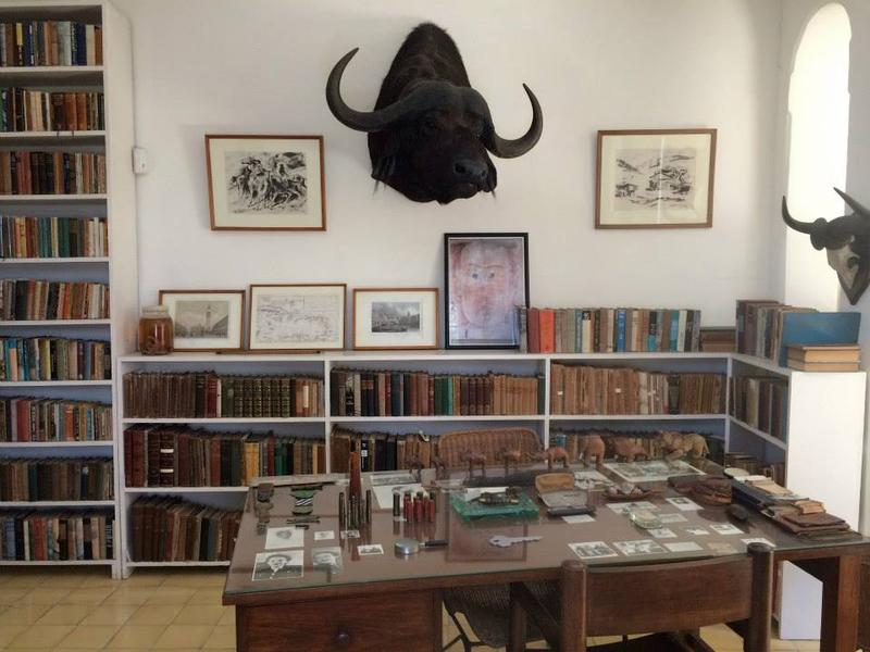 "Ernest Hemingway's ""hunting study,"" as described during a 2015 tour of his former home outside Havana."